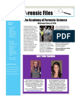 Forensic Newsletter