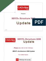 Revit Structure 2008 Update Tutorial Outline