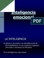 INTELIGENCIA EMOCIONAL -2009