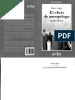 Auge Marc - El Oficio de Antropologo