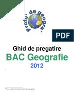 Geografie - Ghid de Pregatire Bac