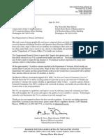Reserve Officers Association Support Letter