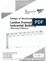 P028 Industrial Lattice Frame Building