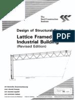 P028 Industrial Lattice Frame Building