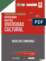 """Bases Concurso de Ensayos """"Repensando la Diversidad Cultural"""""""