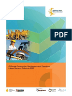 Oil Sands Construction Maintenance and Operations Labour Demand Outlook