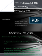 Decision 720 -Can
