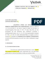 1 Modelo Contestação - Jec e Proc Sum (m) - Atlântico 2012