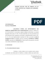 Contestação - Jec Es - Patricia Correa Soeiro - Erro Do Cessionário - Ilegitimidade - Ultima - Outro Credor - Boa