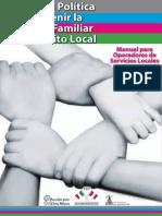 Incidencia Política Para Prevenir La Violencia Familiar