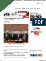 25-06-14 Conmemoran la Toma de Zacatecas en el Congreso de la Unión