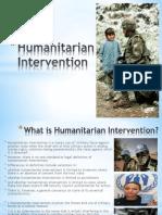 Humanitarian Intervention (1)