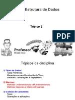 Tópico 2 - Matrizes