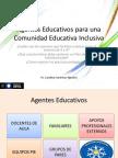 Agentes Educativos Para Una Comunidad Educativa Inclusiva (1)