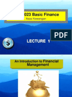 Lecture_1 finance
