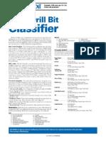 Pesos y Rotarias Recomendados Para Bnas 2006_Drill Bit Classifier