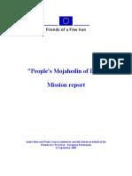 People's Mojahedin of Iran (PMOI) - Mission Report