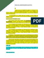 Método Fenomenológico de La Investigación Cualitativa