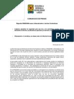 140626 COMUNICADO_Repudia RNDDHM nuevo allanamiento a revista Contralínea