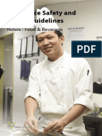Guidelines - Hotels Food and Beverage