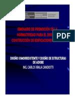 14. Diseño Sismorresistente y Diseño de Estructuras Con Adobe - Ica - Febrero 2012