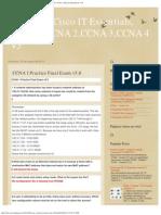 Examenes Cisco It Essentials, Ccna 1,Ccna 2,Ccna 3,Ccna 4 v5_ Ccna 1 Practice f