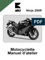 Kawasaki Ninja 250R - Manuel d'Atelier FR
