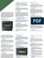 CDLC Speedlite600EX-RT Custom Settings QuickGuide