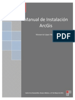 Manual Arcgis Instalación