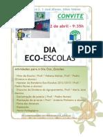 Convite Para o Dia Ecoescolas