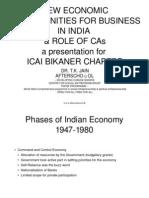 CA Institute Presentation
