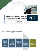 SESIÓN 02 Funciones, Roles y Competencias Gerenciales de Un Administrador