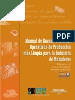 Manual Buenas Practicas Nicaragua Proarca