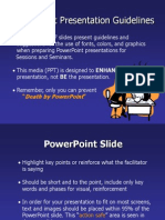 Powerpoint GPowerPointGuidelinesuidelines