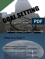20091125 - Goal Setting - Lakshmi Sowmya
