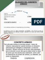 Generalidad de Concreto Armando