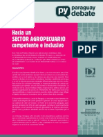 Brief 8 - Sector Agropecuario
