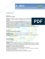 Reglamento GUAIMUN 2014