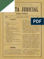 Gaceta Judicial No 2