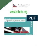 Apostila AutoCAD 2008