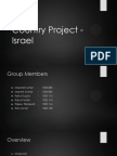 Country Project - Israel