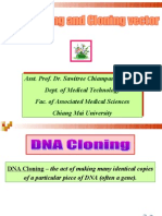 DNA Cloning&Cloning Vector