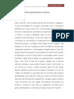 Apuntes Prosa Grega Arcaica i Clàssica (Tucídides,Xenofont)