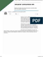5 Dicas Para Encarar Concursos Em 2013 - Notícias - Carreira - Administradores