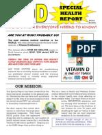 VITAMIN D - SPECIAL REPORT
