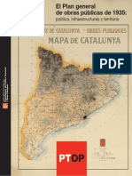 Plan de Caminos de 1935 - Catalunia