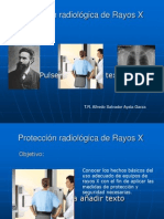 Protección Radiológica de Rayos X