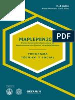 14mplm Programa Preliminar