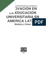 Innovación en la educación universitaria en America Latina