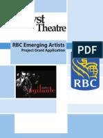 06.20.2014 RBC E-Artist Application